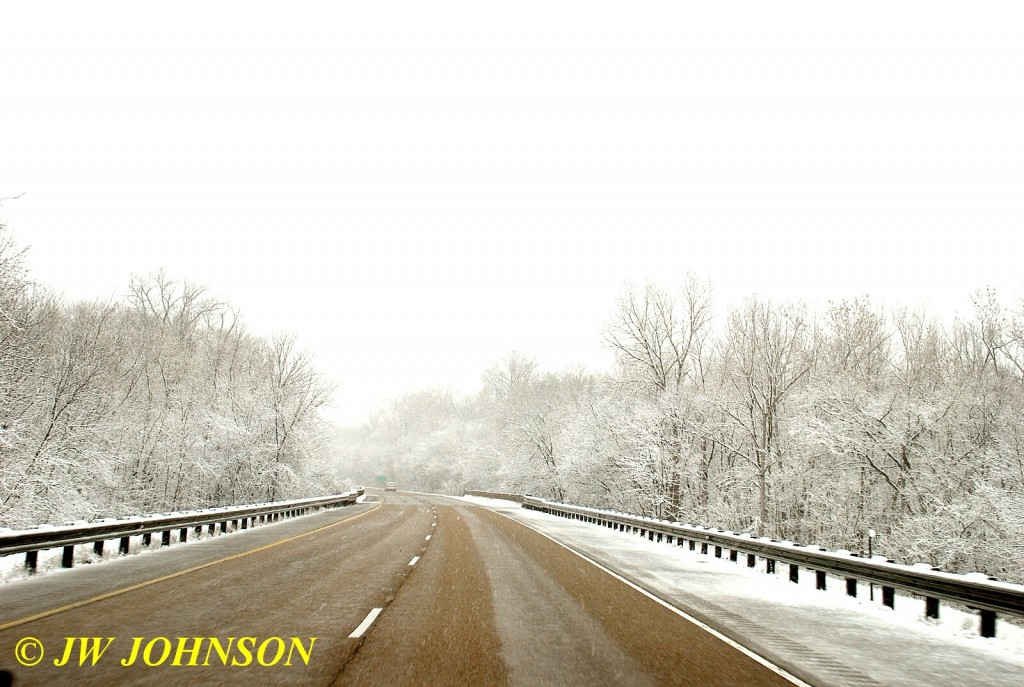 Winter Wonderland Along I-64 in IL