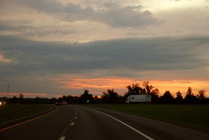 1 Sunrise Approaching Eddyville
