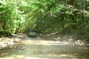 13 Drive Out Thru Creekbed