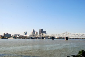 92 Skyline of Louisville and Ohio River