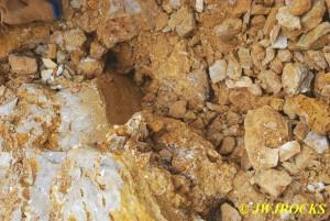 8 Crystals Pulled Out Under Boulder
