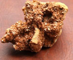 16 Red Calcite Druse Piece