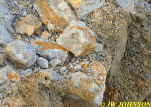 17 Druse Chunks Found Initially