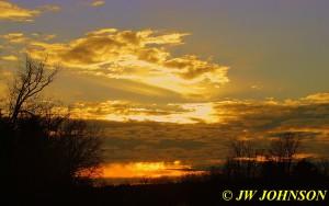 83 Sunday Cloudy Sunset