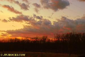 11 Sunset Near Steelville