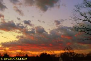 12 Sunset Near Steelville