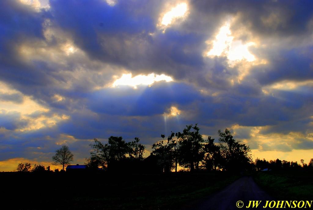 19 Sunbeams Above Beck Rd Farm