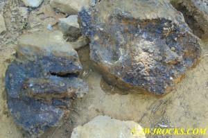 24 Fluorite Boulders