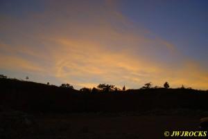10 Sun Starts to Set