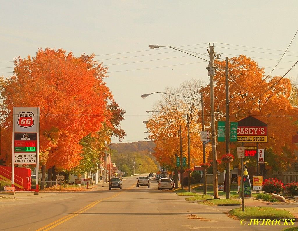 01 Main Street Foliage Steelville