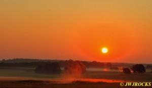03 Sunrise in Fields Near Yukon