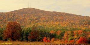 Mountain Color Near Y City