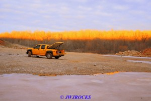 20 My Truck As Sun Sets