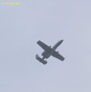 Military Jet Overhead 5