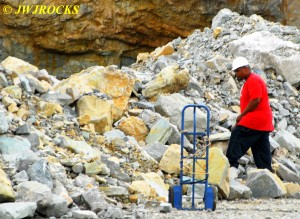 11 Checking Boulders for Dolomite