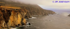 Bixby Bridge Area Coastline