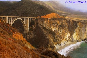 Bixby Bridge South of Monterey