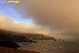 Bixby Bridge Surrounded by Fog 0919 2