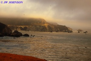 Bixby Bridge Surrounded by Fog 0919 3