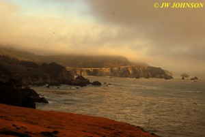 Bixby Bridge Surrounded by Fog 0919