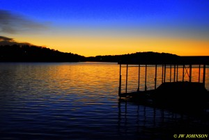 12B Fading Sunset Lake Hamilton