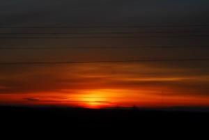 01 Sunrise Enroute