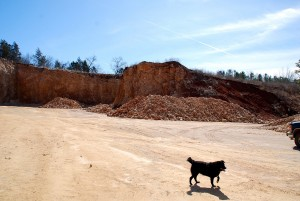 Crider Quarry at Eminence Today