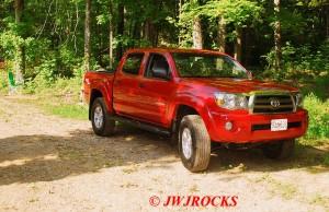 01 New Truck at Eureka Mine