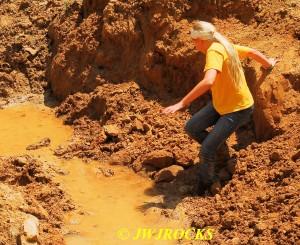 20 Sinking In Mud