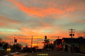 04 Sunset at Cuba Downtown