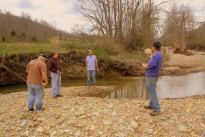 Phils Location Group Discussion Creekbed - Chucks Pix