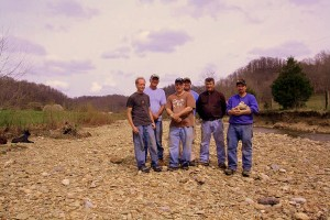 Phils Location Group in Creekbed -Chucks Pix