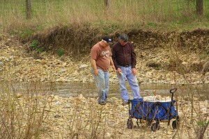 Phils Location Jim & Phil Look For Geodes - Chuck Pix